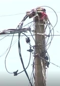 Nghệ An: Nguy cơ tai nạn điện do người dân tự ý đấu nối