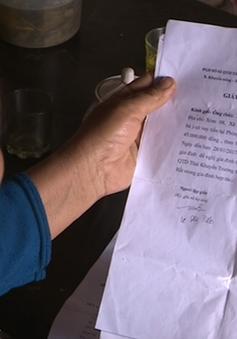 Thanh Hóa: Ký hộ giấy tờ thế chấp vay vốn, nhiều người dân mất nhà