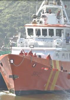 Cứu nạn thành công tàu cá Bình Định gặp nạn trên biển