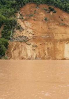 Lật thuyền ở Lai Châu, một người mất tích giữa dòng sông Đà