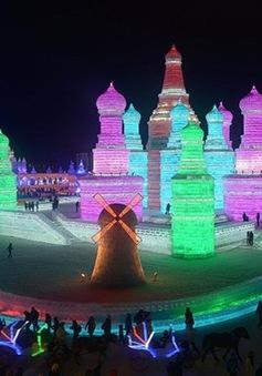 Rực rỡ lễ hội băng đăng Cáp Nhĩ Tân, Trung Quốc