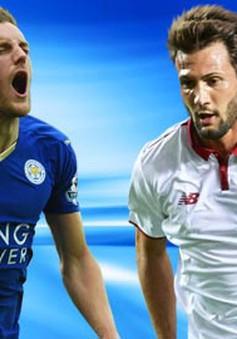 2h45 ngày mai (15/3) VTV3 trực tiếp bóng đá lượt về vòng 1/8 Champions League: Leicester City vs Sevilla
