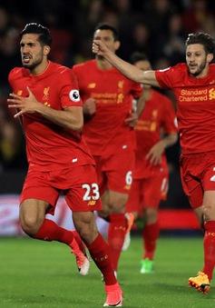 Vòng 35 Ngoại hạng Anh: Thắng tối thiêu Watford, Liverpool giành lợi thế lớn trong cuộc đua top 3