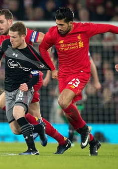 Cúp Liên đoàn Anh: Liverpool 0-1 Southampton, bàn thua phút bù giờ