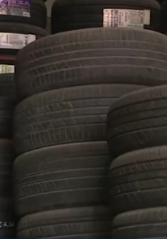 Vạch trần thủ đoạn biến lốp xe ô tô cũ thành lốp mới