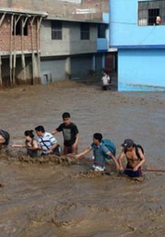 Lũ bất thường tại Peru, ít nhất 5 người thiệt mạng