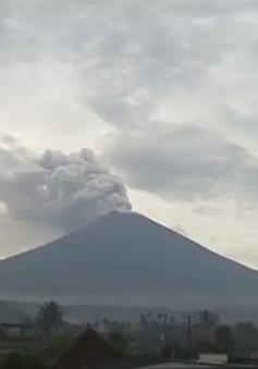 Indonesia cảnh báo núi lửa Agung có khả năng phun trào rất mạnh