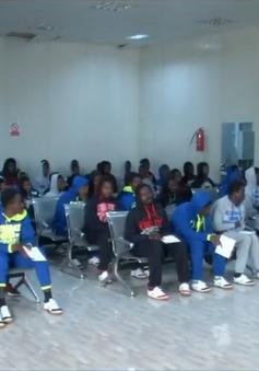 Libya giảm quá tải ở các trại tị nạn