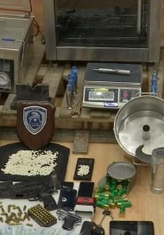Hy Lạp thu giữ lượng ma túy kỷ lục