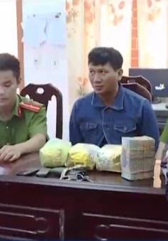 Nghệ An bắt giữ 3kg ma túy đá