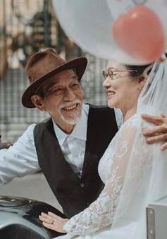 Vợ chồng nghệ sĩ Mai Ngọc Căn và câu chuyện tình 50 năm mới có ảnh cưới