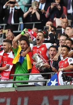 Nghẹt thở đánh bại Chelsea, Arsenal lần thứ 3 vô địch FA Cup trong 4 năm