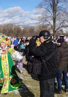 Tưng bừng tuần lễ tiễn mùa đông của người dân Moscow