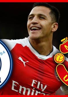 """Man Utd âm mưu """"hất cẳng"""" Man City khỏi cuộc đua giành Alexis Sanchez"""