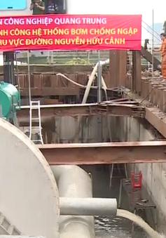 Vận hành thử siêu máy bơm chống ngập tại TP.HCM