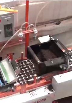 """Độc đáo sáng chế máy gieo hạt chân không """"6 trong 1"""""""