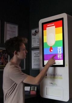 Máy xét nghiệm HIV tự động miễn phí cho kết quả sau 15 phút
