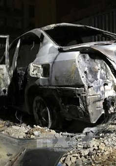 Đánh bom xe ở thủ đô Libya, 2 người thiệt mạng