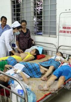 Hơn 100 học sinh tiểu học Vĩnh Long nhập viện nghi ngộ độc thực phẩm