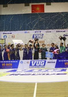 ĐH Bách Khoa giành ngôi vô địch Futsal sinh viên khu vực TP.HCM