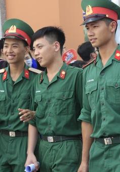 Một số trường quân đội thông báo điểm xét tuyển bổ sung đợt 1