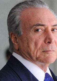 Ủy ban Hạ viện Brazil bác đơn khởi tố chống lại Tổng thống Temer