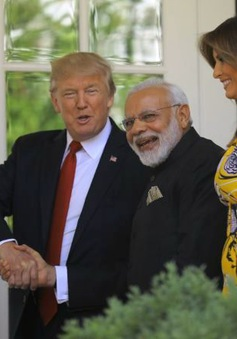 Tổng thống Mỹ hội đàm với Thủ tướng Ấn Độ