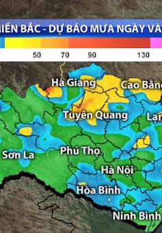 Mưa lớn tại các tỉnh miền núi phía Bắc sẽ kéo dài hết ngày mai (17/8)