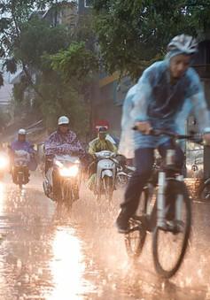 Cảnh báo mưa lớn trên diện rộng ở miền Bắc
