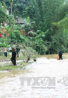 Mưa lũ tại Thái Nguyên, 1 người thiệt mạng