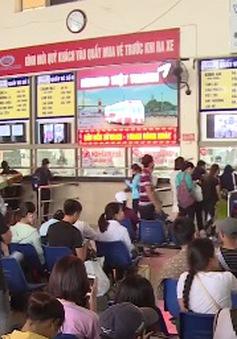 Hà Nội: Chưa ghi nhận tình trạng đẩy giá vé xe khách dịp 2/9