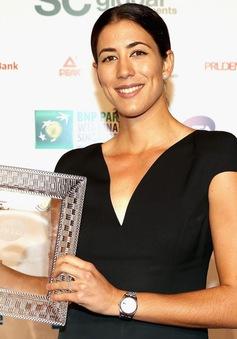 Muguruza trở thành tay vợt nữ xuất sắc nhất năm 2017
