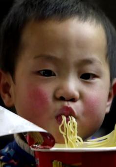 Chất lượng cuộc sống tăng, người Trung Quốc giảm ăn mỳ gói