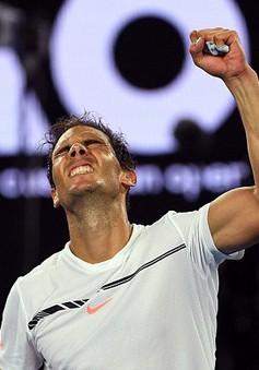 Australia mở rộng 2017: Nadal đặt lịch hẹn Federer trong trận chung kết
