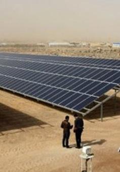 Công viên năng lượng mặt trời cho người tị nạn