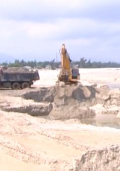 Khuất tất từ dự án nạo vét cửa biển ở Thừa Thiên - Huế