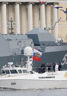 Nga phô trương sức mạnh Hải quân