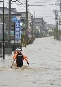 Nhật Bản chìm trong mưa lũ lớn chưa từng có