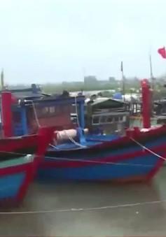 Bão số 10: Ngư dân chật vật tìm chỗ neo đậu tàu thuyền