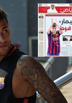 Neymar kiểm tra y tế tại PSG trong ngày 31/7