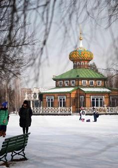 Đắm mình trong không gian văn hóa Nga phủ trắng tuyết tại Cáp Nhĩ Tân