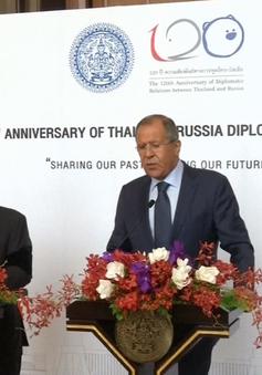 Nga quan tâm thúc đẩy hợp tác đa dạng với Thái Lan