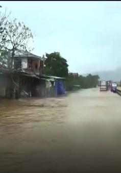 Ngập úng diện rộng tại Thừa Thiên - Huế