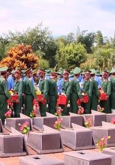 Truy điệu và an táng 29 liệt sĩ Việt Nam hi sinh tại Campuchia