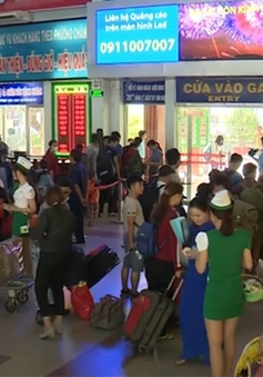 Người dân bắt đầu rời TP.HCM về quê ăn Tết