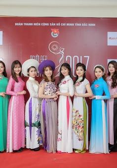 """Rạng ngời nhan sắc """"Người đẹp Kinh Bắc 2017"""""""