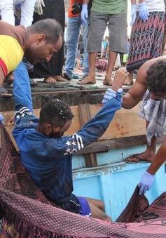 Hàng chục người tị nạn Somalia thiệt mạng ngoài khơi Yemen