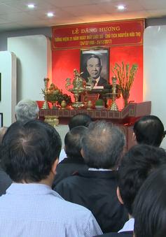 Dâng hương tưởng niệm 21 năm ngày mất Luật sư - Chủ tịch Nguyễn Hữu Thọ