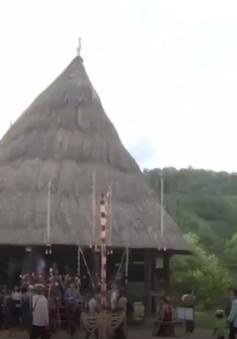 Khôi phục nhà Dài - nét văn hóa độc đáo của đồng bào Cơ Tu, Quảng Nam