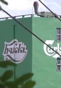 Nhà máy bia gây ô nhiễm giữa lòng Hà Nội